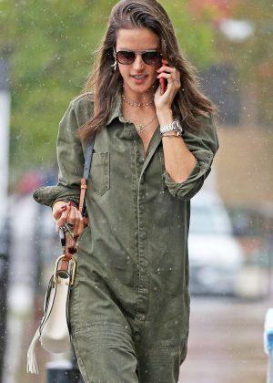 Alessandra Ambrosio out in LA