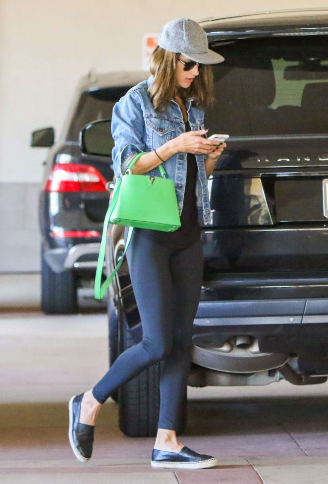 Alessandra Ambrosio – Out in Los Angeles -01