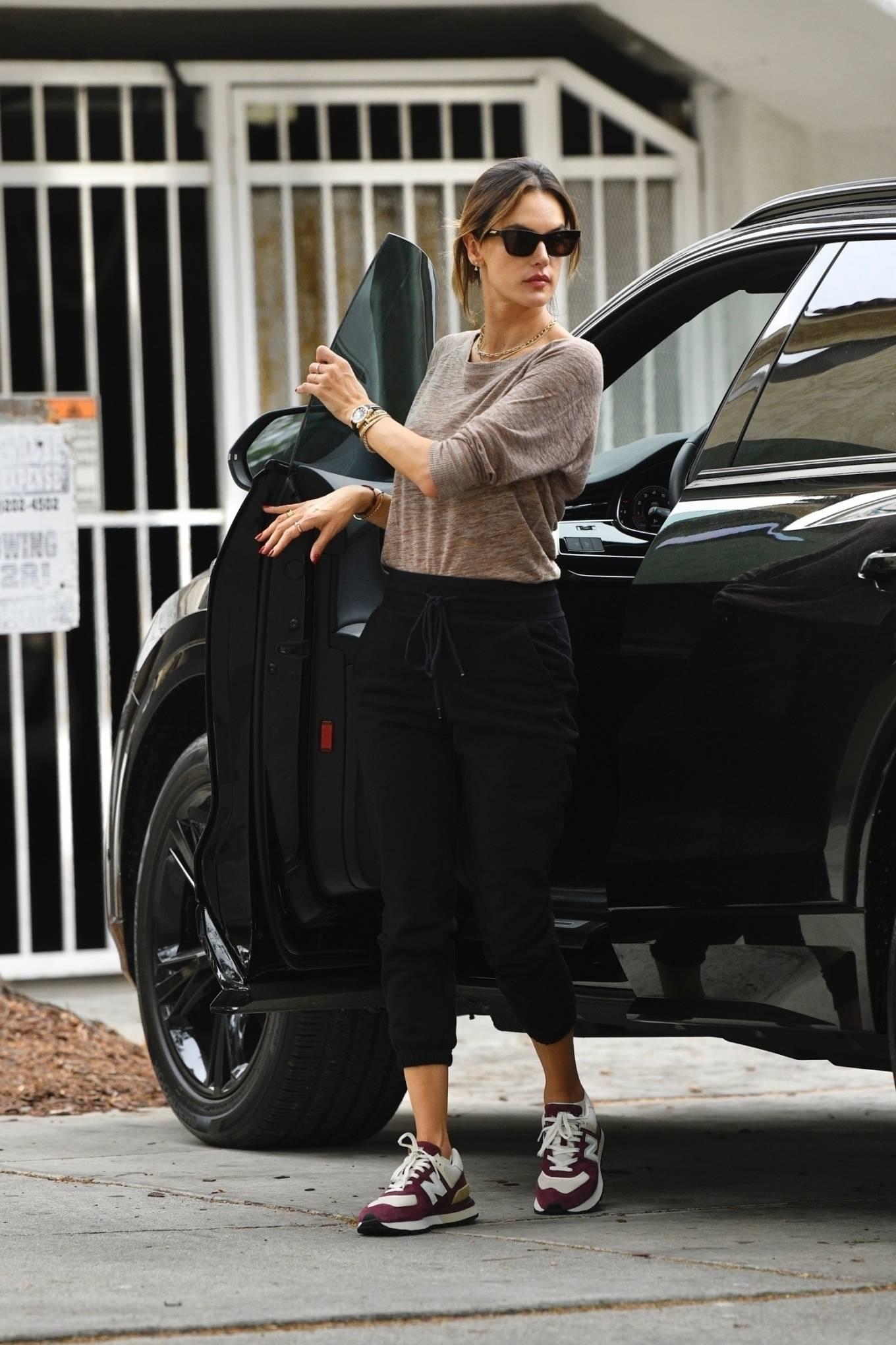 Alessandra Ambrosio 2019 : Alessandra Ambrosio – Out in Los Angeles-04