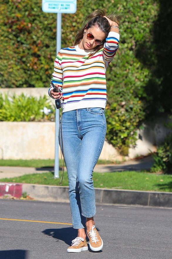Alessandra Ambrosio 2019 : Alessandra Ambrosio – Out in Los Angeles-06