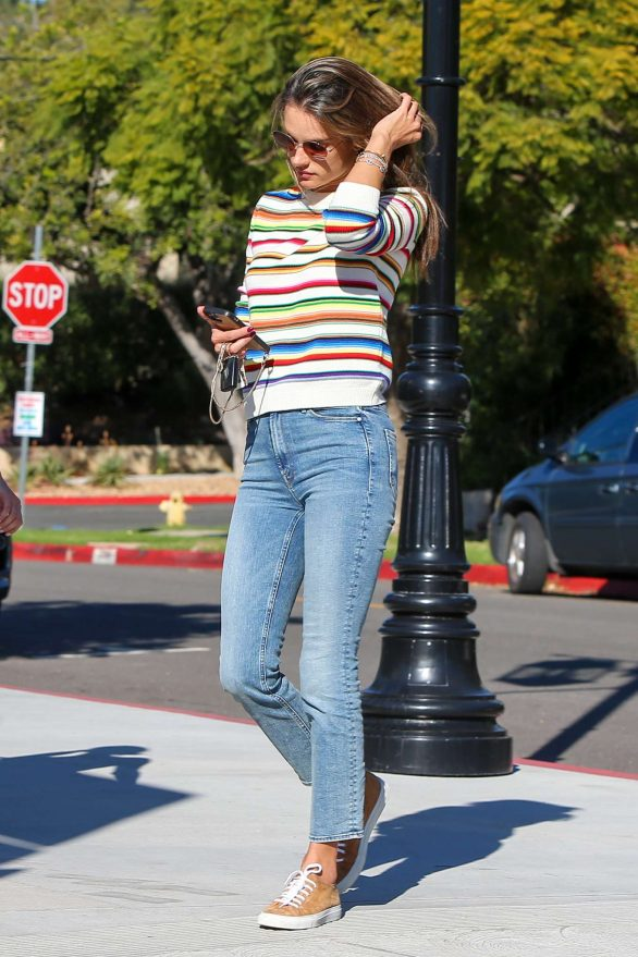 Alessandra Ambrosio 2019 : Alessandra Ambrosio – Out in Los Angeles-14