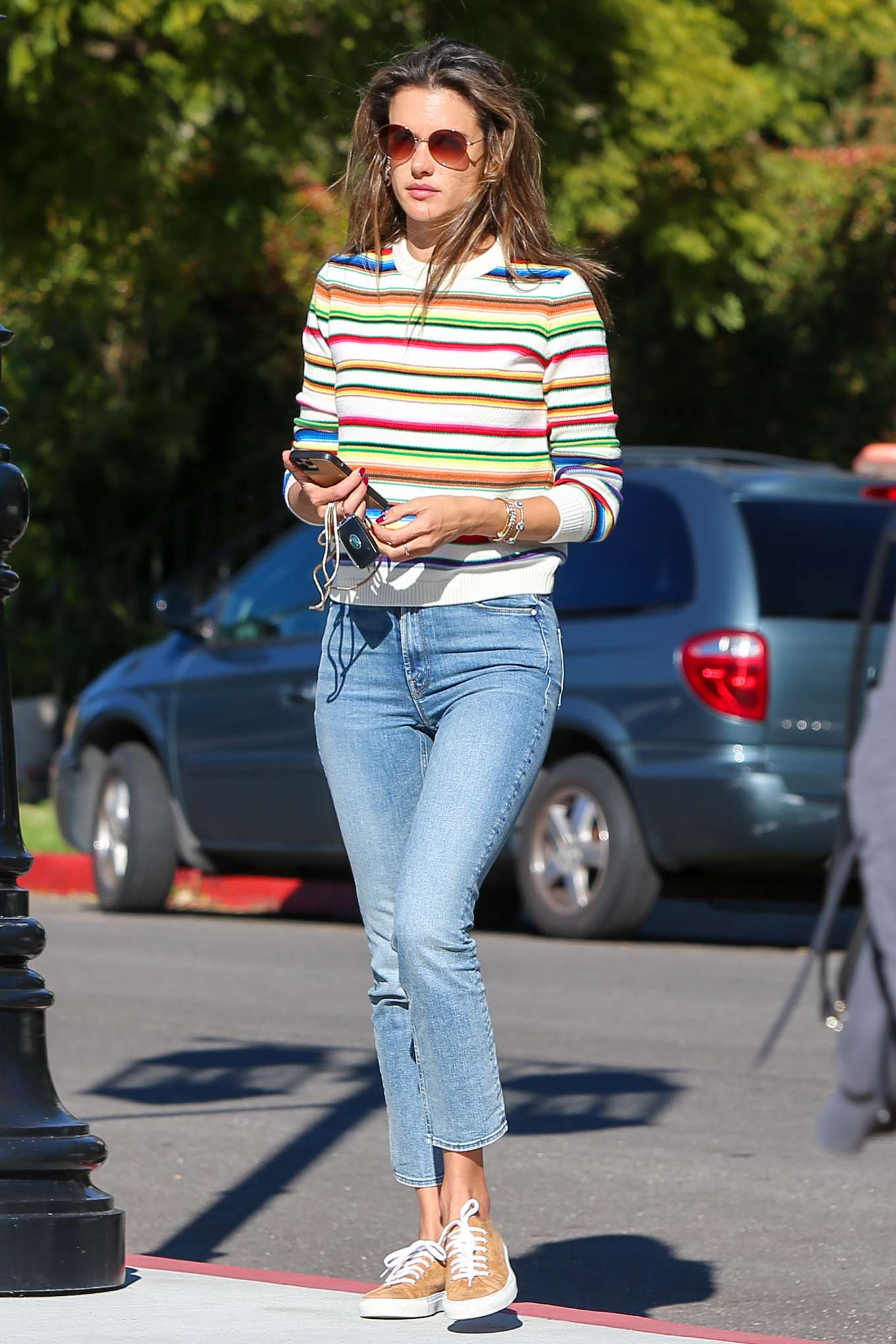 Alessandra Ambrosio 2019 : Alessandra Ambrosio – Out in Los Angeles-25