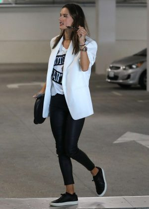 Alessandra Ambrosio out in Los Angeles