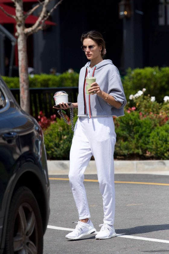 Alessandra Ambrosio: Out in Los Angeles -04