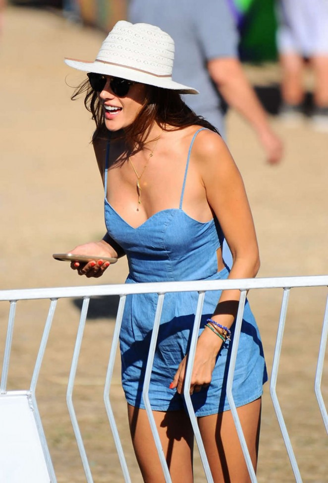 Alessandra Ambrosio out in Malibu