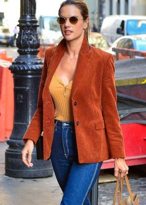 Alessandra Ambrosio - Out in New York