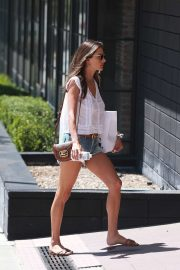 Alessandra Ambrosio - Out in Santa Monica