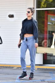 Alessandra Ambrosio - Out in West Hollywood