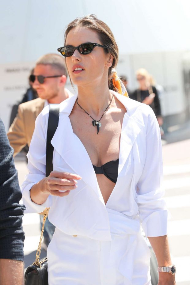 Alessandra Ambrosio - Out on the Croisette in Cannes
