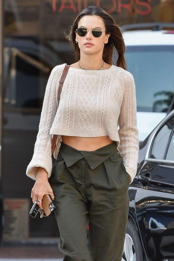 Alessandra Ambrosio - Out running errands in Santa Monica