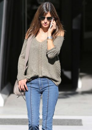 Alessandra Ambrosio Out Shopping in Beverly Hills