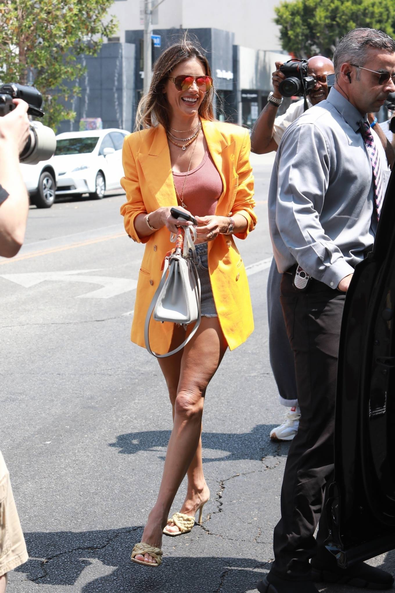 Alessandra Ambrosio 2021 : Alessandra Ambrosio – Pictured at The Ivy for lunch in Beverly Hills-10
