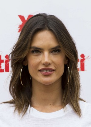 Alessandra Ambrosio – Presents 'Xti' New Collection in Madrid