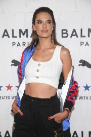 Alessandra Ambrosio - PUMA x Balmain Launch Event in Los Angeles