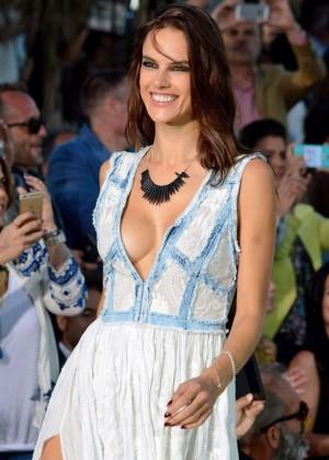 Alessandra Ambrosio: Replay Fashion Show -04