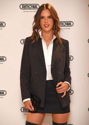 Alessandra Ambrosio - Rimowa London Concept store VIP Press Launch