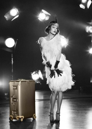 Alessandra Ambrosio - RIMOWA Luggage Summer Lookbook 2015