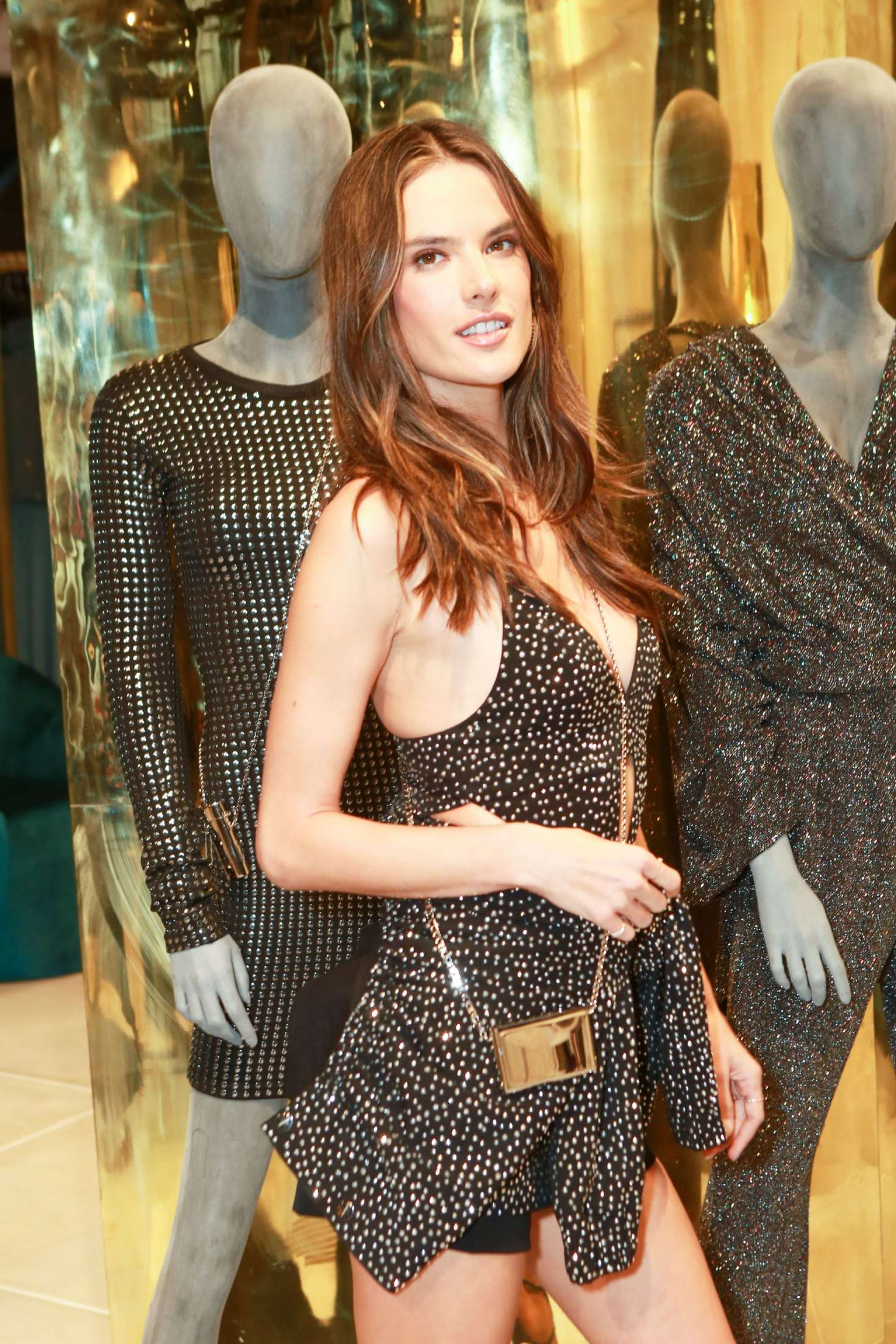 Alessandra Ambrosio - Rosa Cha Store Opening in Los Angeles
