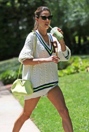 Alessandra Ambrosio - Runs errands in Los Angeles
