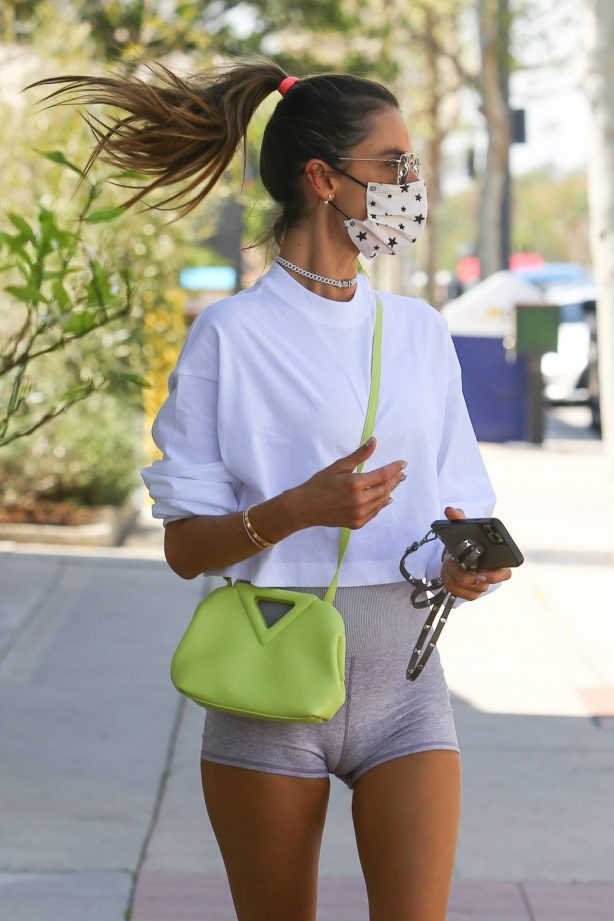 Alessandra Ambrosio - Seen after the gym in Brentwood