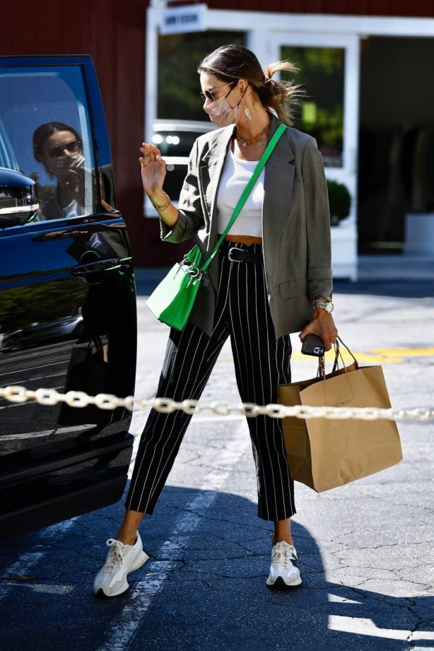Alessandra Ambrosio - Seen at Brentwood Country Mart