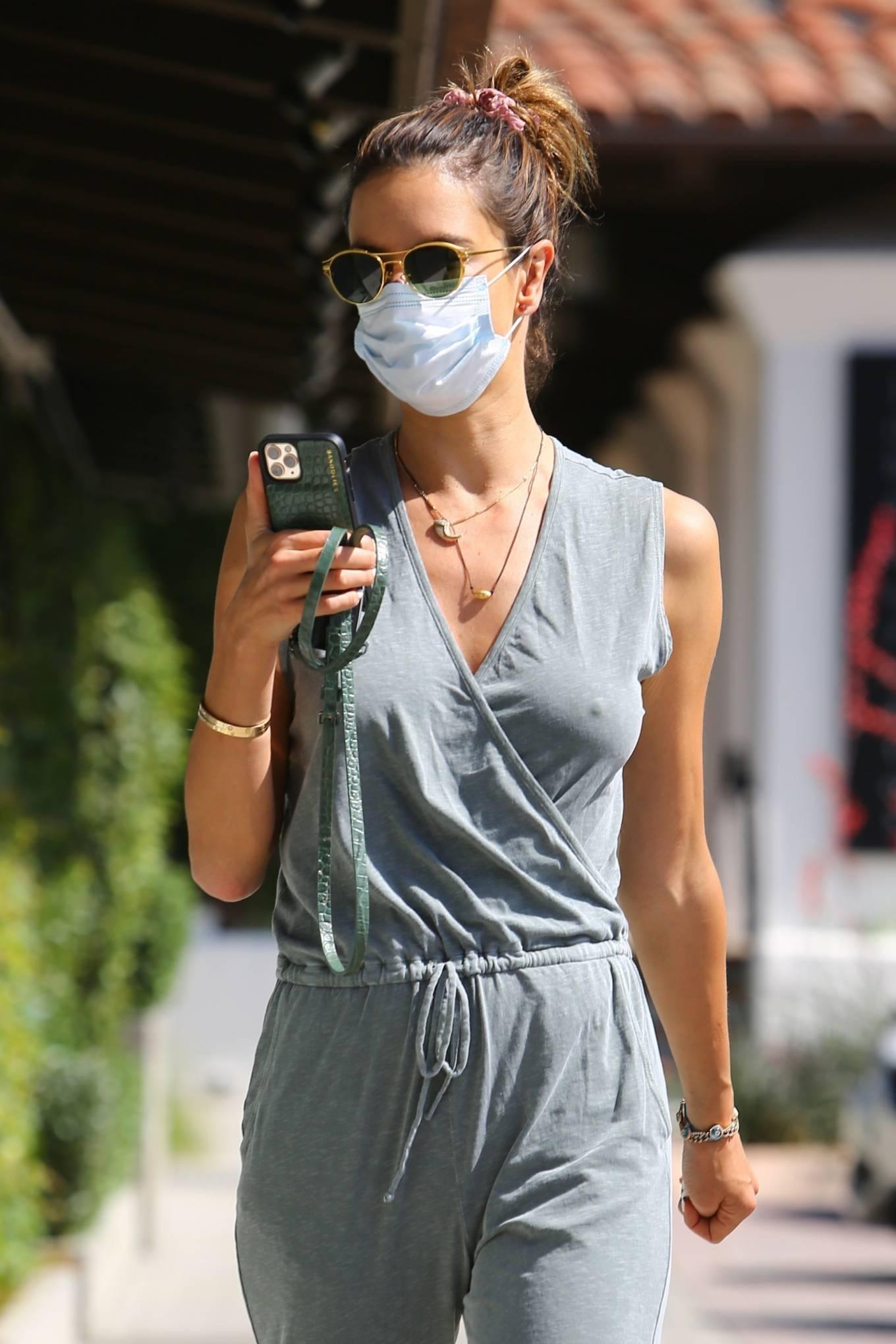 Alessandra Ambrosio - Seen at Sunlife organics in Malibu - California