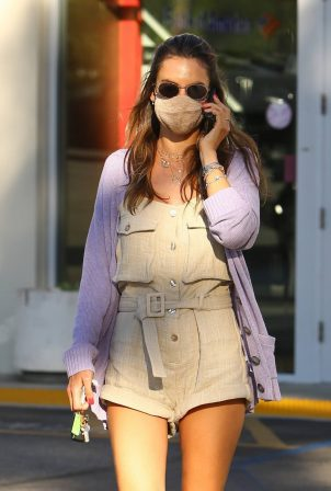 Alessandra Ambrosio - Shopping candids at Brentwood Country