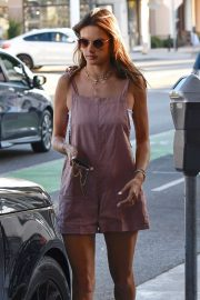 Alessandra Ambrosio - Shopping candids in Beverly Hills