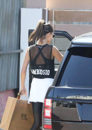 Alessandra Ambrosio - Shopping Candids in Malibu