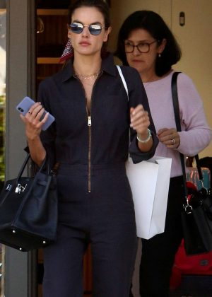 Alessandra Ambrosio - Shopping in Brentwood