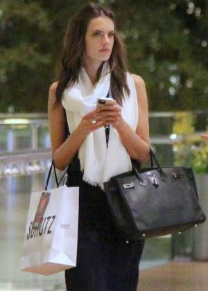 Alessandra Ambrosio - Shopping In Rio De Janeiro