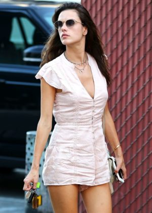 Alessandra Ambrosio - Shopping on Rodeo Drive in Beverly Hills