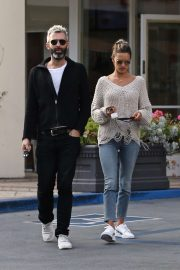 Alessandra Ambrosio - Shopping with a friend at Fred Segal in West Hollywood