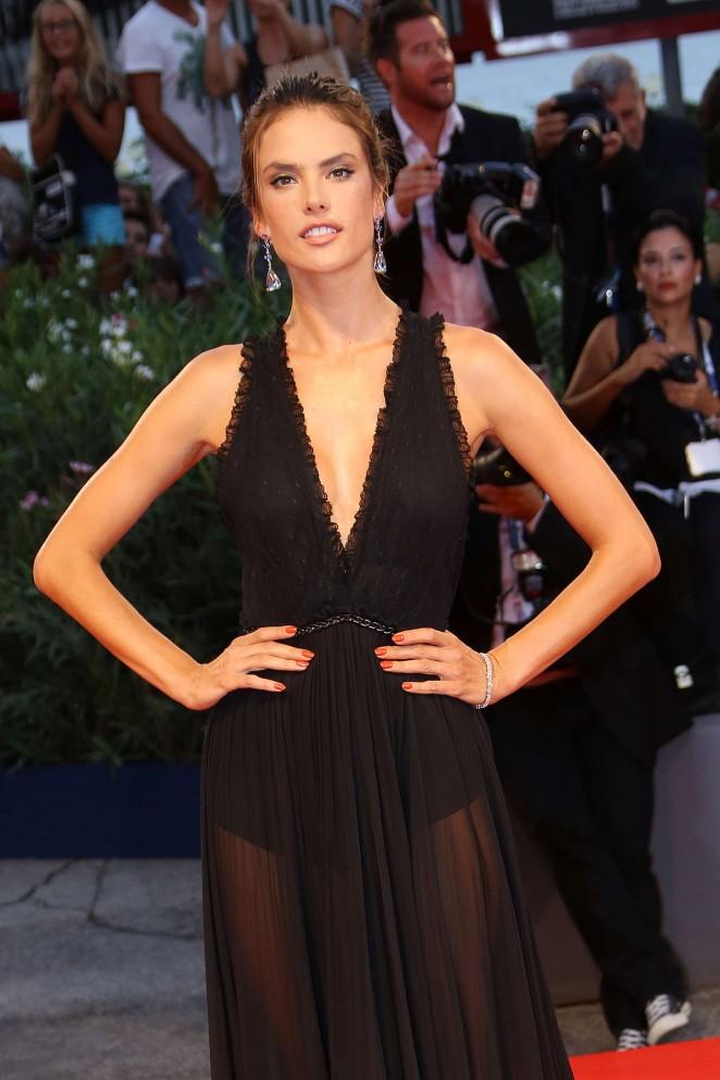Alessandra Ambrosio – 'Spotlight' Premiere at 2015 Venice Fil Festival