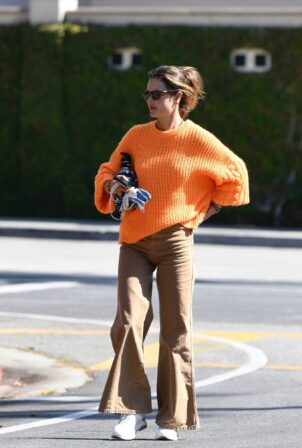 Alessandra Ambrosio - Spotted while running errands around Brentwood