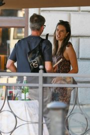 Alessandra Ambrosio - Spotted with her boyfriend Nicolò Oddi in Florence - Italy