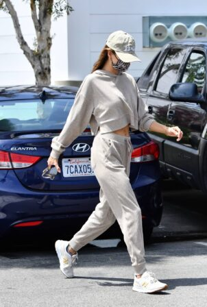 Alessandra Ambrosio - Steps out for a lunch in Malibu