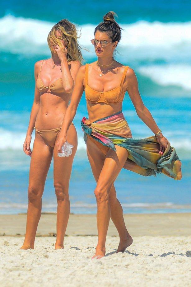 Alessandra Ambrosio - Still in a bikini in Florianoplis