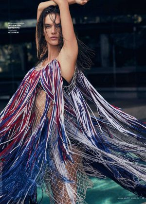 Alessandra Ambrosio - Tatler Russia Magazine (June 2018)