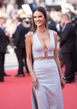 Alessandra Ambrosio - 'The Unknown Girl' Premiere at 2016 Cannes Film Festival