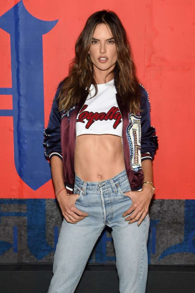 Alessandra Ambrosio – TommyXLewis Launch Party in NYC