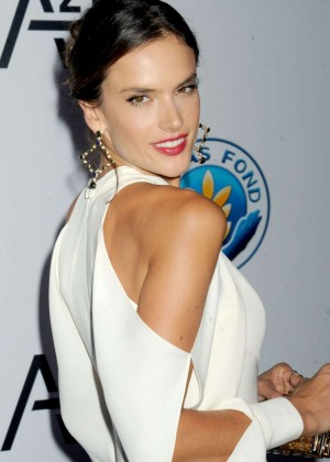 Alessandra Ambrosio - Unitas Gala against Sex Trafficking in NYC