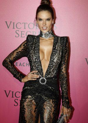 Alessandra Ambrosio - Victoria's Secret Fashion Show 2016 After Party in Paris