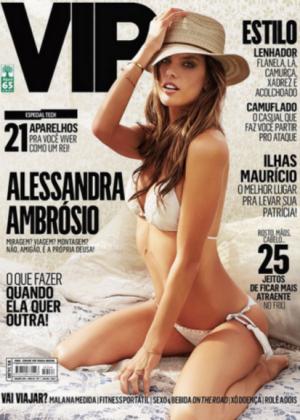 Alessandra Ambrosio - VIP Magazine July 2015