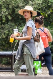 Alessandra Ambrosio - Visits Descanso Gardens in Los Angeles