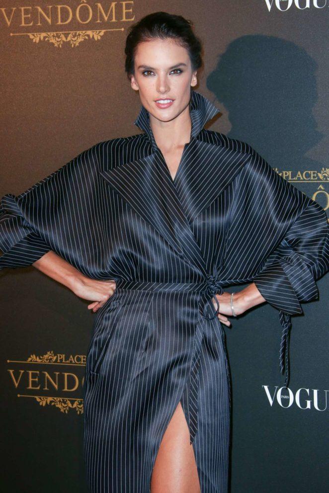 Alessandra Ambrosio: Vogue party at 2017 Paris Fashion Week-08