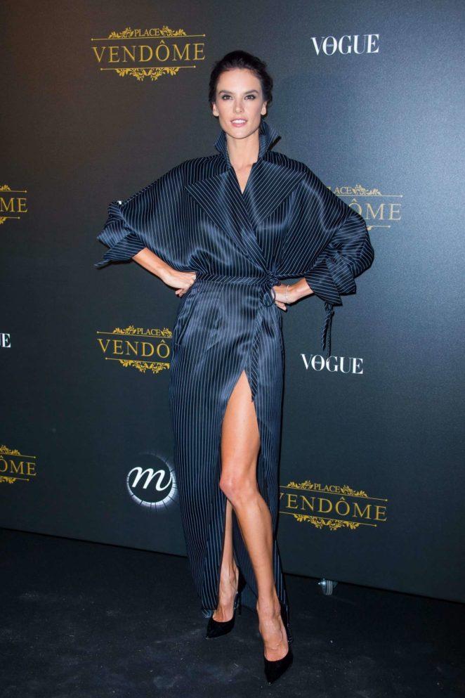 Alessandra Ambrosio: Vogue party at 2017 Paris Fashion Week-11