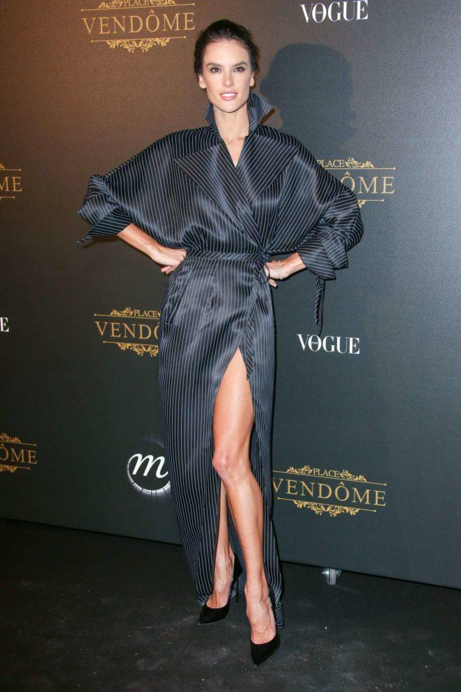 Alessandra Ambrosio: Vogue party at 2017 Paris Fashion Week-12