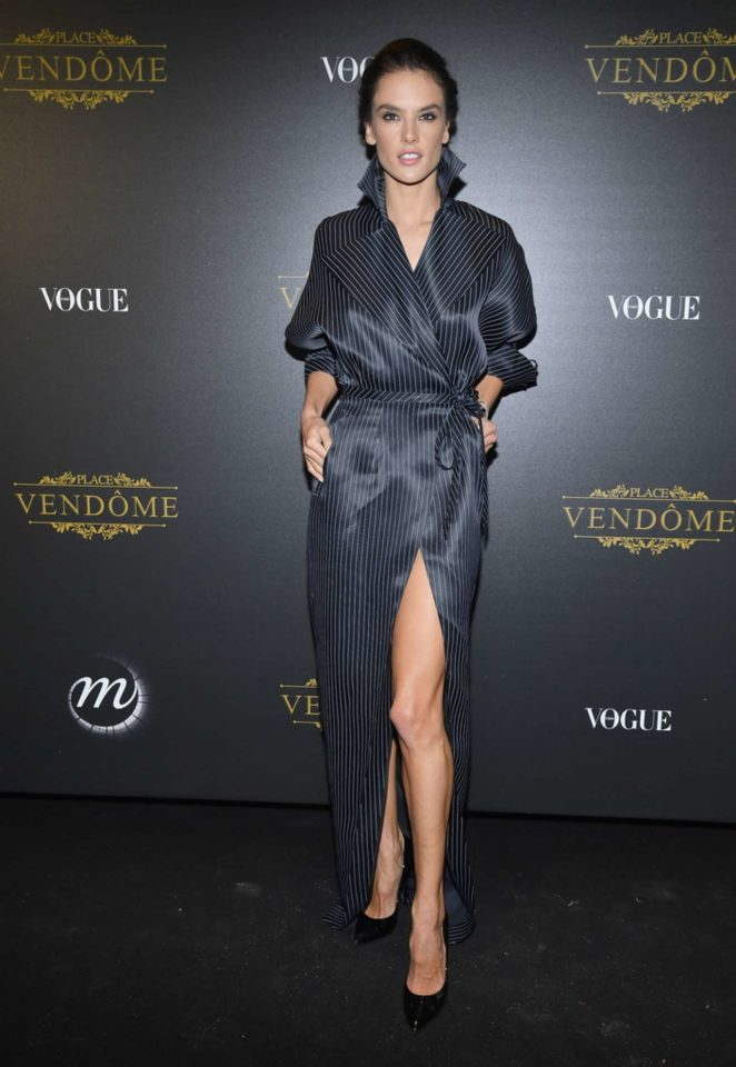 Alessandra Ambrosio: Vogue party at 2017 Paris Fashion Week-14