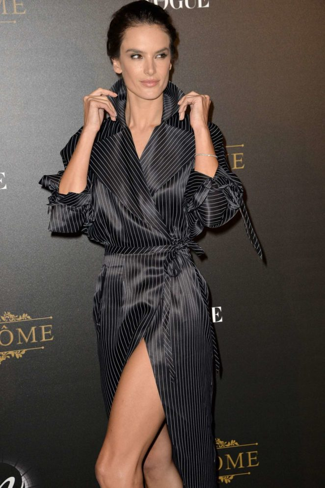 Alessandra Ambrosio: Vogue party at 2017 Paris Fashion Week-15